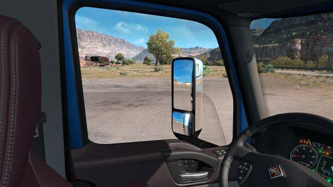 Finally! American Truck Simulator is getting openable truck windows