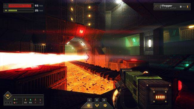Core Decay is a retro-shooter immersive sim about a cyborg on a dying Earth
