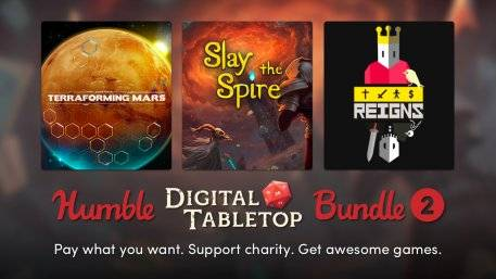 Humble Digital Tabletop Bundle 2 Slays Spires and Rules the Land