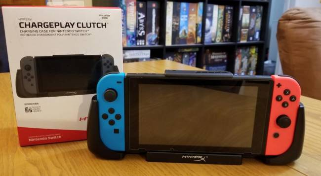 HyperX Chargeplay Clutch for Nintendo Switch Review