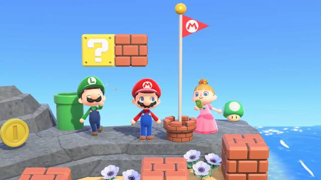 Available Now: Animal Crossing: New Horizons Update Brings Mario Items