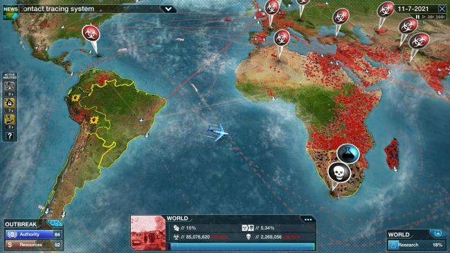 Plague Inc: The Cure is out right now and totally free