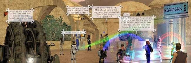Massively Overthinking: Are MMO chat bubbles the best thing ever or an interface eyesore?
