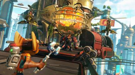 Ratchet & Clank Remake Is Looking Mighty Fine