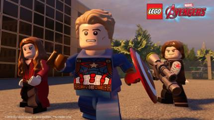 Free Lego Marvel's Avengers Civil War, Ant-Man DLC Coming To PlayStation
