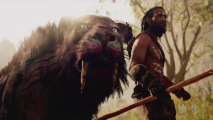 Huge Cats And Brutal Combat In This Primal Story Trailer