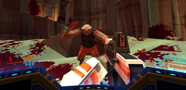 Bloody 90s-styled shooter Strafe is coming out in March