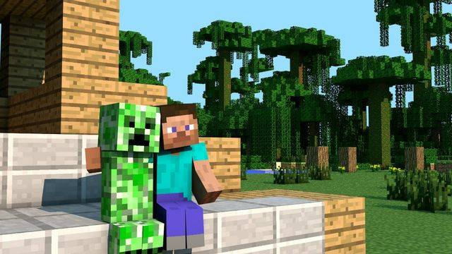 Someone ported a Minecraft clone onto the Dreamcast