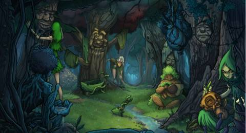Find Your Place Among The Living Trees Of Trader Of Stories