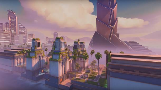 Blizzard Gives Us A Revealing Tour Of Overwatch's Oasis Map