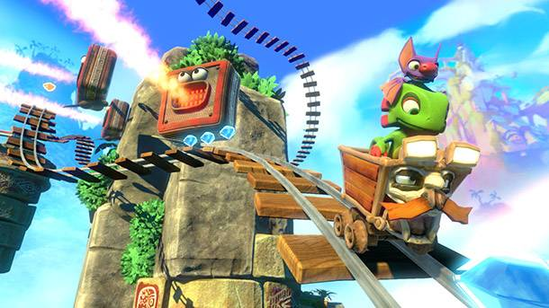 Yooka-Laylee Trailer Shows Off Its Co-op And Local Multiplayer Arcade Games