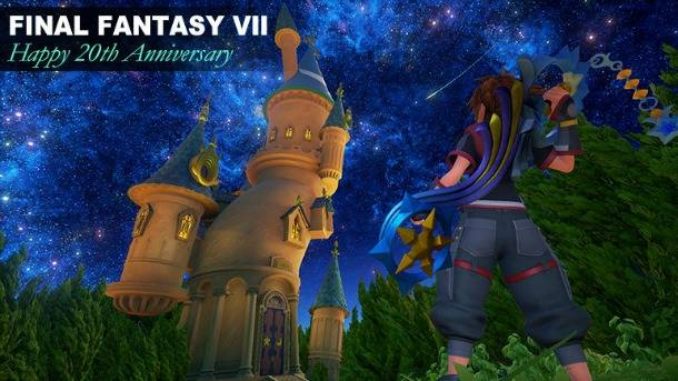 New Screen Pays Homage To Final Fantasy VII