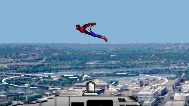 Spider-Man: Homecoming Trailer Gets The 8-Bit Treatment