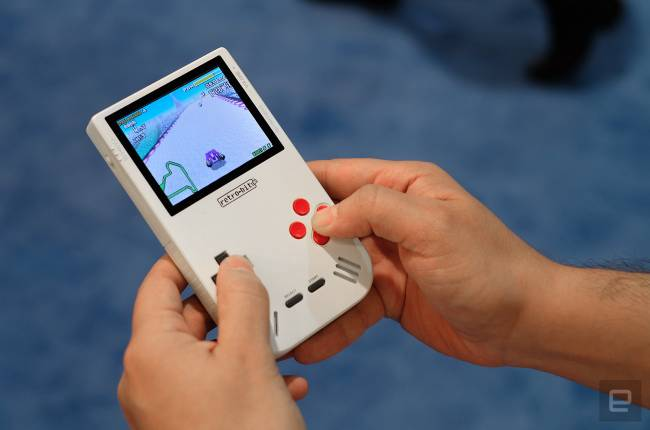 The Game Boy is back from the dead... kind of