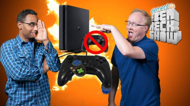 BenHeck's PS4 accessibility controllers