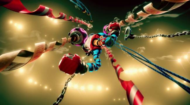 Arms brings shooter-esque boxing to the Nintendo Switch