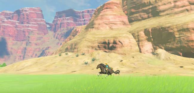 """Nintendo Reveals New """"Breath of the Wild"""" Trailer at Switch Presentation"""