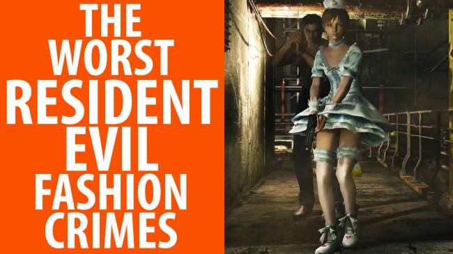 Boyband haircuts, one-legged wetsuits, and more: the worst Resident Evil fashion crimes