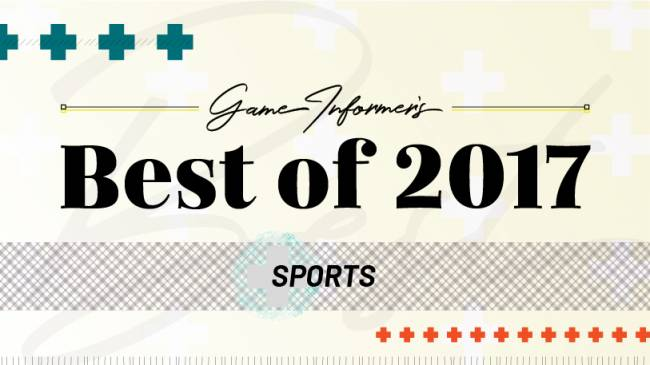 The 2017 Sports Game Of The Year Awards