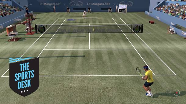 The Sports Desk – Full Ace Tennis Simulator