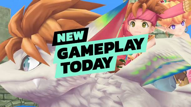 New Gameplay Today – The Secret Of Mana