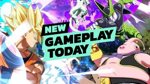 New Gameplay Today – Dragon Ball FighterZ