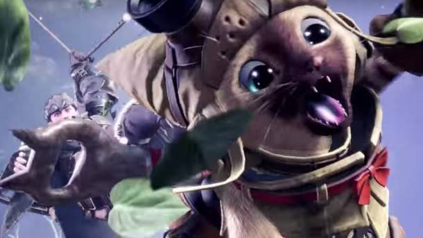Here Are Most Of The Armor Sets You Can Get For Your Cat Companion In Monster Hunter: World