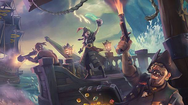 Watch Us Attack And Ransack A Rival Pirate Ship In Sea Of Thieves