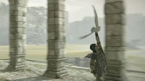 Sick Stunts In Shadow Of The Colossus On PlayStation 4