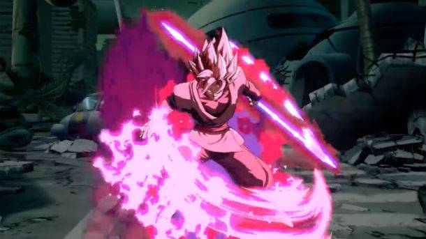 New Dragon Ball FighterZ Goku Black Trailer