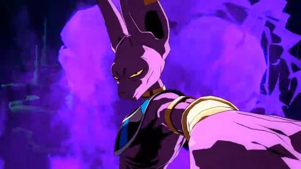 The God of Destruction Shows Off His Skills