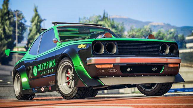 GTA Online's latest update adds a raging racer with front-firing machine guns