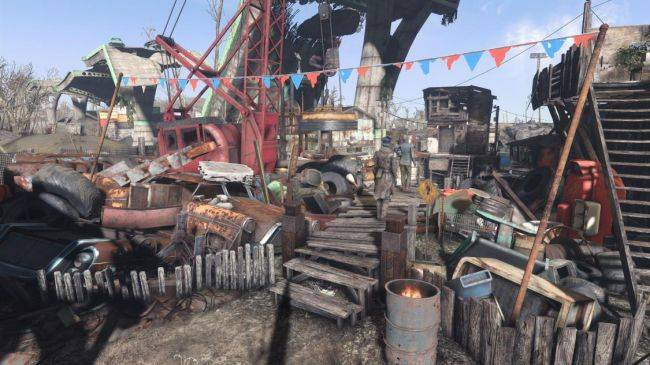 Fallout 4 mod lets you assign NPCs to plan and manage your settlements