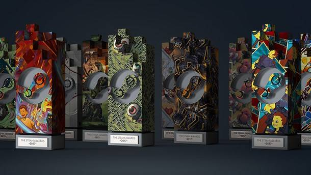 The 2017 Steam Awards winners are revealed