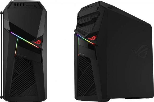 Asus unveils a factory-overclocked desktop with hot-swappable storage
