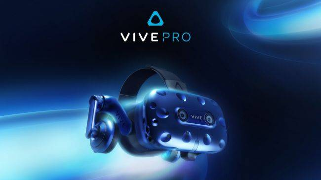 HTC announces Vive Pro with increased resolution and built-in headphones