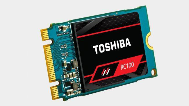Toshiba aims for mainstream pricing with new RC100 NVMe SSDs