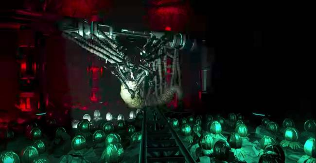 This Aliens-themed Planet Coaster ride is incredible