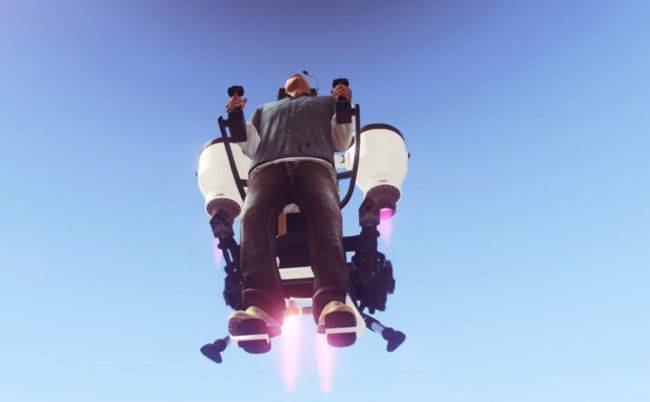GTA 5 mod adds the Doomsday Heist's jetpack to single player
