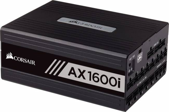 Corsair's 1600W power supply has wattage to spare