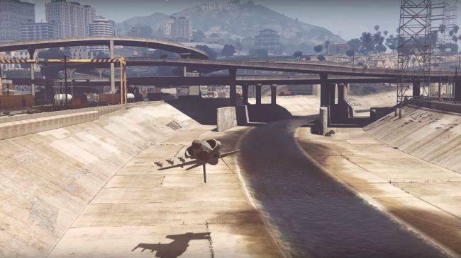 Check out this stunning GTA 5 stunt montage, featuring flying tanks and one-winged fighter jets