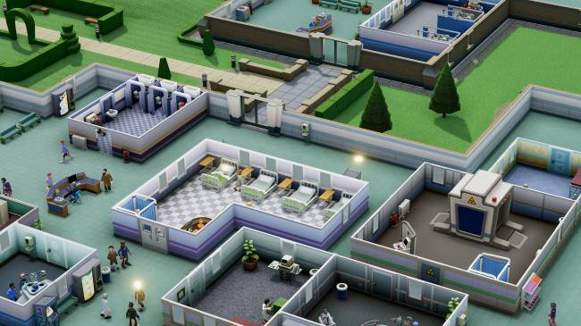 Two Point Hospital is a new management sim from the creators of Theme Hospital