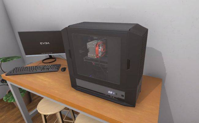 EVGA is throwing its parts into PC Building Simulator