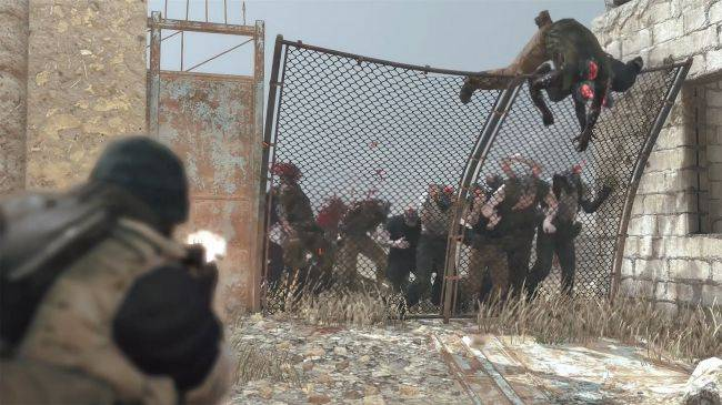 Shoot zombies, build defences, ride mechs in 15 minutes of Metal Gear Survive multiplayer