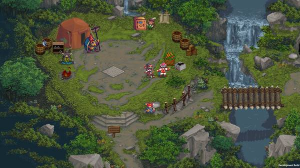 Pretty dungeon crawler Tangledeep shoots out of Early Access on February 1
