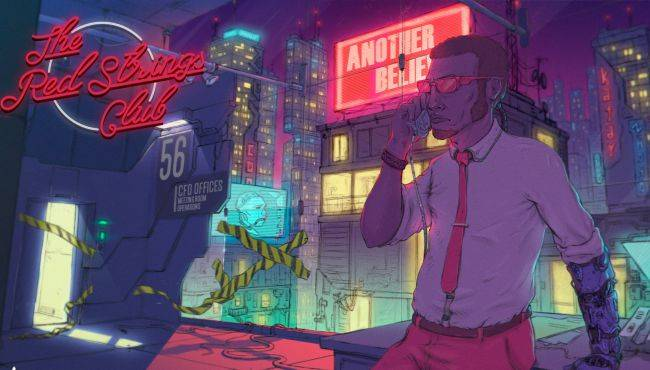 The Red Strings Club launch trailer teases cyberpunk bartending and futuristic phone calls