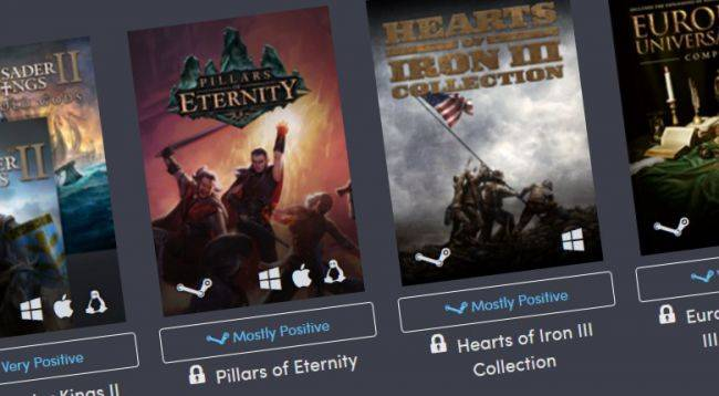 Stellaris, Pillars of Eternity, and Hearts of Iron feature in the Humble Paradox Bundle