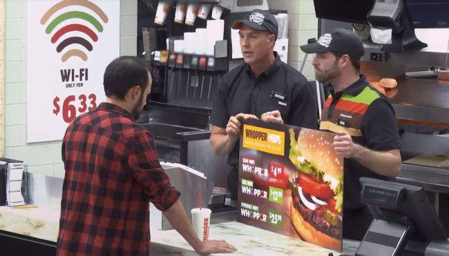 Burger King has a beef with the FCC voting to remove net neutrality rules