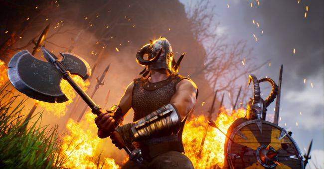 Rune: Ragnarok trailer showcases vikings, dragons, and a gigantic puppy