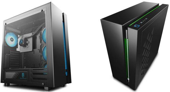 DeepCool's Ark 90 cases comes with its own liquid cooling setup